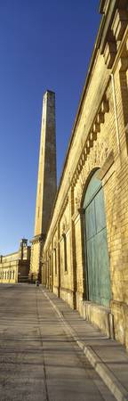 Chimney of a mill Salts Mill Saltaire Bradford We