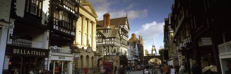 Buildings in a town Eastgate Clock Chester Cheshi