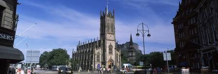 Church in a city St Johns Church Princes Street E
