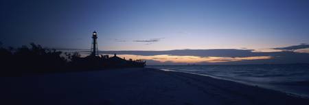 Sanibel Island Light at dawn