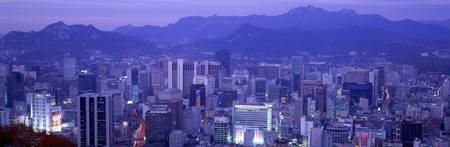 Night Seoul South Korea