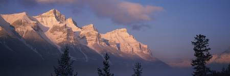 Rundle Ridge Bow Valley Banff National Park Alber