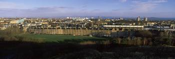 High angle view of a city Royal Park Terrace Mead