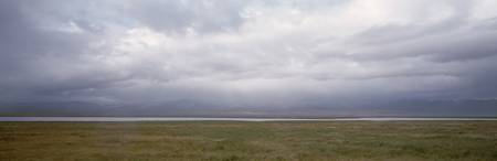 Landscape w/Rain Clouds Soda Lake CA