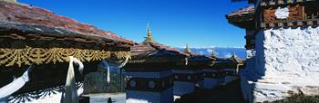 Commemorative monument or chorten at Dochula pass