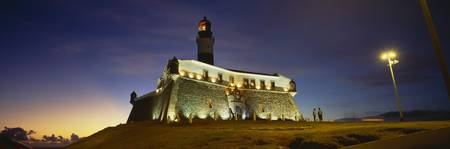 Barra Lighthouse at Dusk Salvador Bahia Brazil