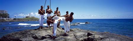 Capoeira Fighting Salvador Bahia Brazil