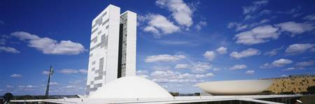 National Congress and Senate Buildings Brasilia D