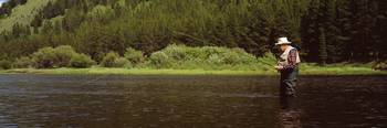 Fly Fishing Big Hole River Deer Lodge County MT