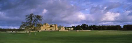 Clouds over a country house Holkham Hall Holkham