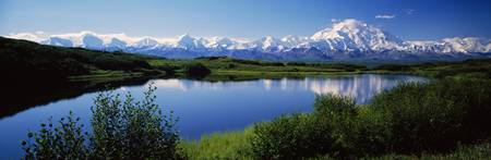 Mount McKinley and Alaska Range