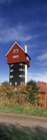 Low angle view of a water tower House in the Clou