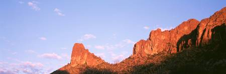 Sunrise Hewitt Canyon Superstition Mountains AZ