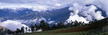 Andes Mountains and Cuzco Area Highlands Peru