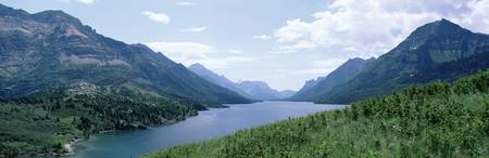 Waterton Lake Waterton Glacier National Park Albe