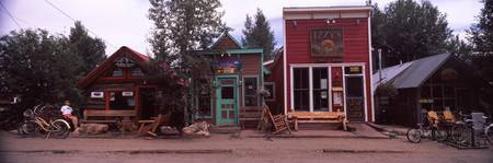 Shops in a town Crested Butte Gunnison County Col