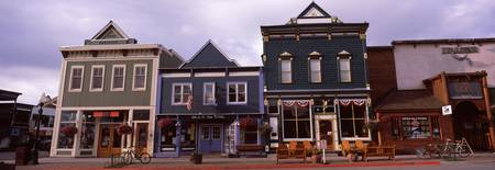 Buildings in a town Crested Butte Gunnison County
