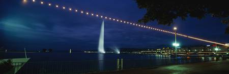 Fountain Geneva Switzerland