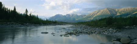 Kennicott River Wrangell St Elias National Park A
