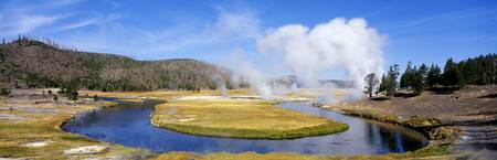 Firehole River Yellowstone National Park WY