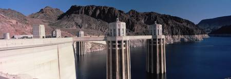 Dam on the river Hoover Dam Colorado River Arizon