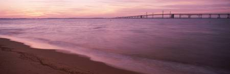 Chesapeake Bay w\Chesapeake Bay Bridge morning gl