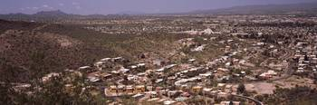Aerial view of a city Tucson Pima County Arizona