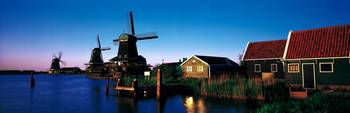 Windmills Zaanstreek Netherlands