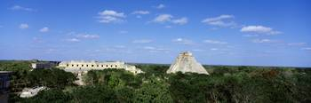 Pyramid of the Magician Uxmal Yucatan Peninsula M