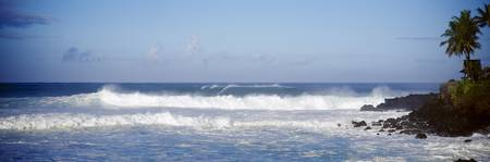 Breaking Waves Waimea Bay HI