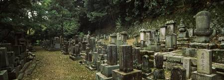 Grave Stones at a temple