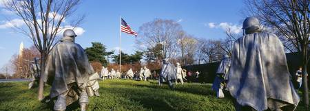 Korean Veterans Memorial Washington DC