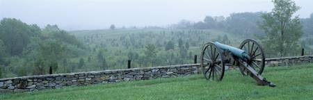 Canons Along Branch Ave Antietam National Battlef