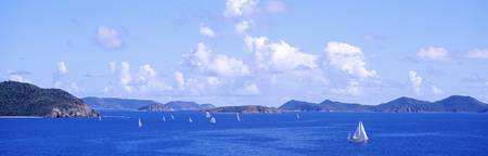 Sailboats Coral Bay East End St. John US Virgin I