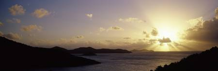 Sunrise Over Coral Bay East End St. John US Virgi