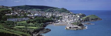 Town on the coast Ilfracombe North Devon Devon En
