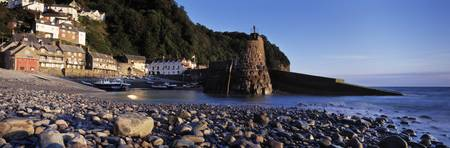 Village on the coast Clovelly North Devon Devon E