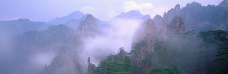 Huangshan Mountains National Park China