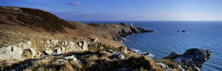 Coastline Start Point Lighthouse South Devon Devo