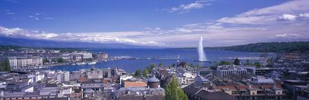 Lake Geneva Geneva Switzerland