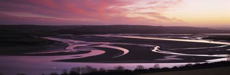 River at sunrise River Taw Barnstaple North Devon