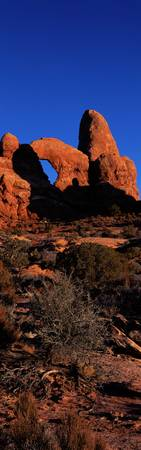Turret Arch Arches National Park Utah