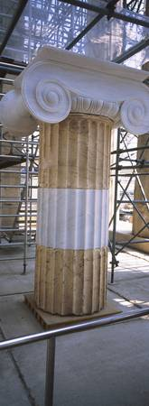 Column in the Acropolis