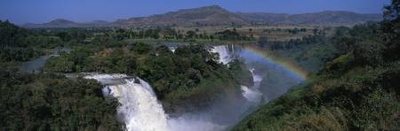 Blue Nile Falls Near Lake Tana Ethiopia Africa