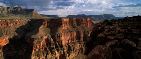 Cliffs and Mesas Grand Canyon National Park Arizo