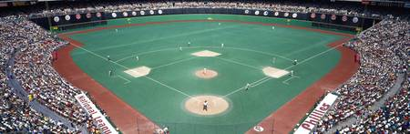Phillies vs Mets baseball game Veterans Stadium P