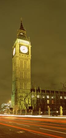 Night Big Ben London England