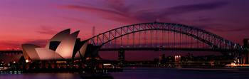 Opera House Bridge Sydney Australia