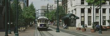 Main Street Trolley Court Square Memphis TN