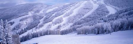 Steamboat Ski Area in the Rocky Mountains Steambo